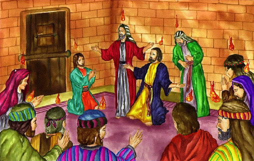 The Story Of Pentecost From Acts Apostles